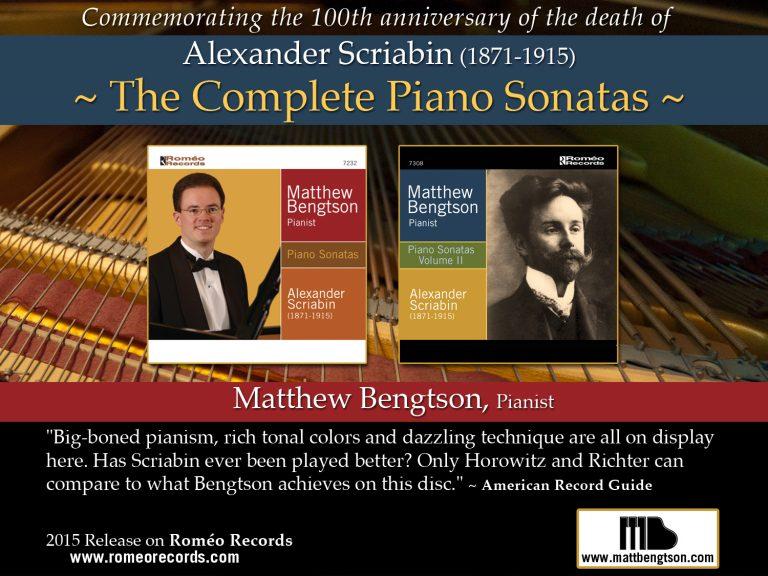 Scriabin sonatas ad