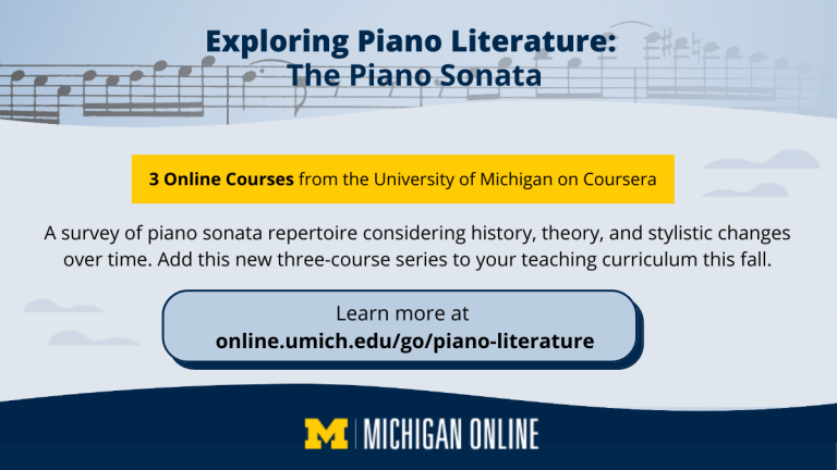 Coursera Exploring Piano Lit ad